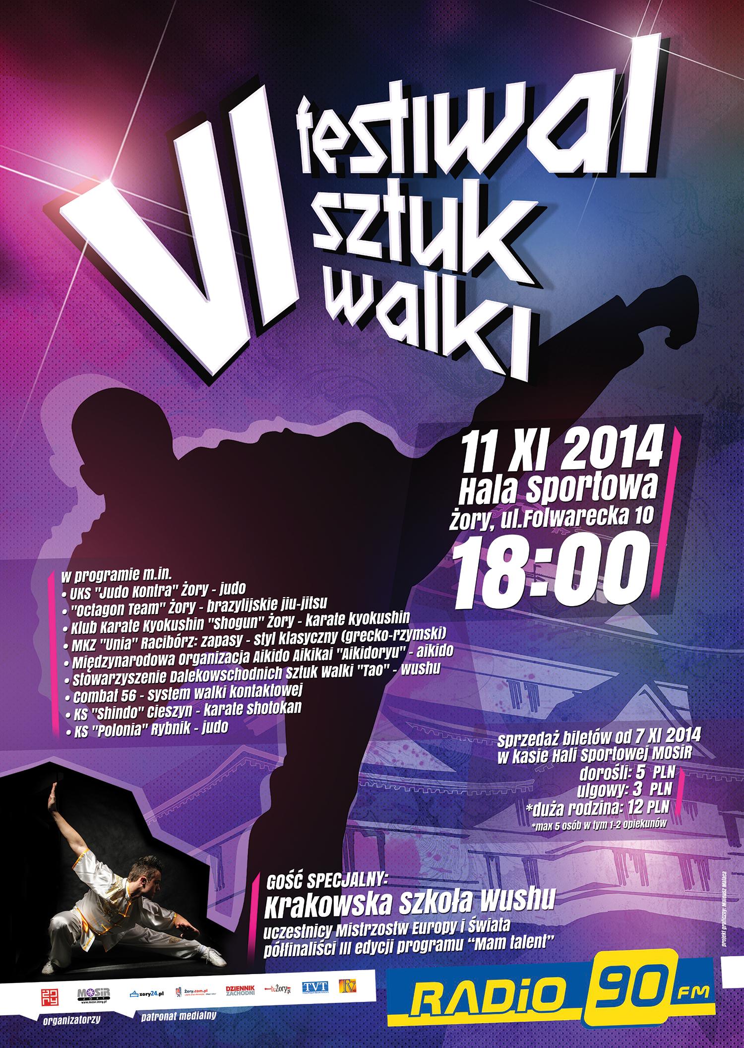 Vi Festiwal Sztuk Walki 11112014 Mosir żory