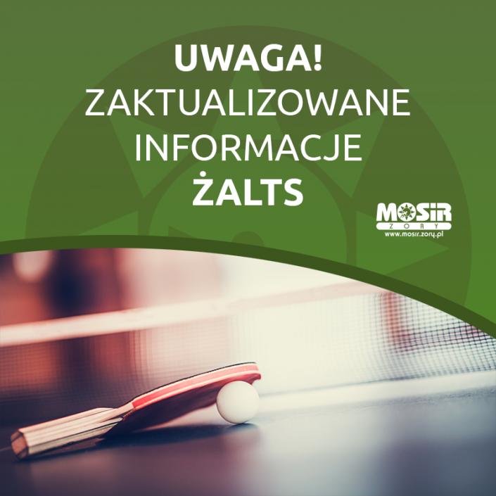 Grafika informująca o zaktualizowanych informacjach ŻALTS