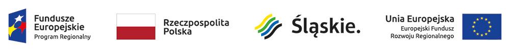 Na grafice logotypy Funduszy Europejskich, Polski, Województwa Śląskiego i Unii Europejskiej