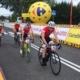 na zdjęciu kolarze podczas wyścigu